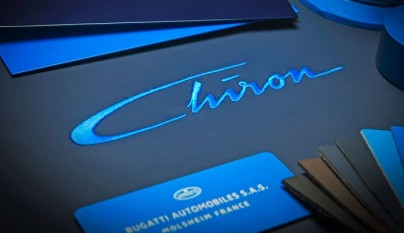 logo bugatti chiron