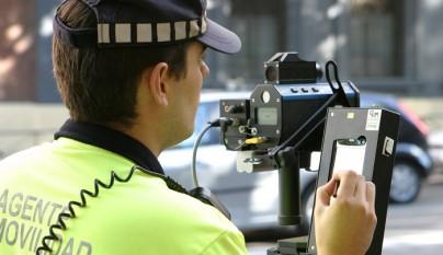 policia multando
