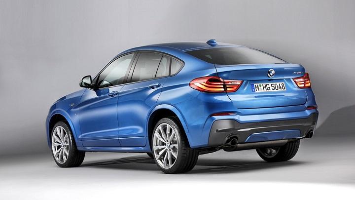 BMW X4 M40i azul zaga