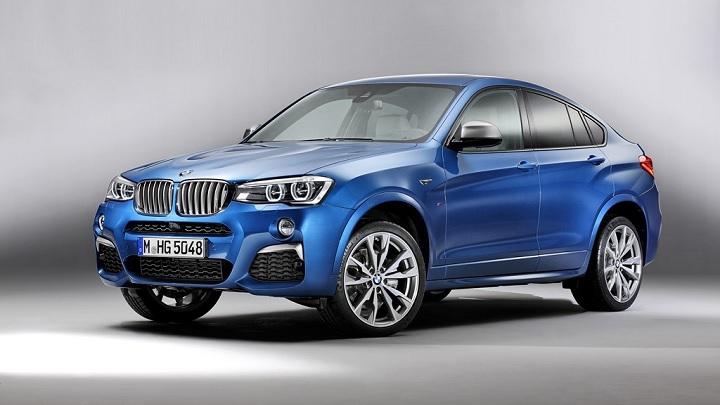 BMW X4 M40i azul