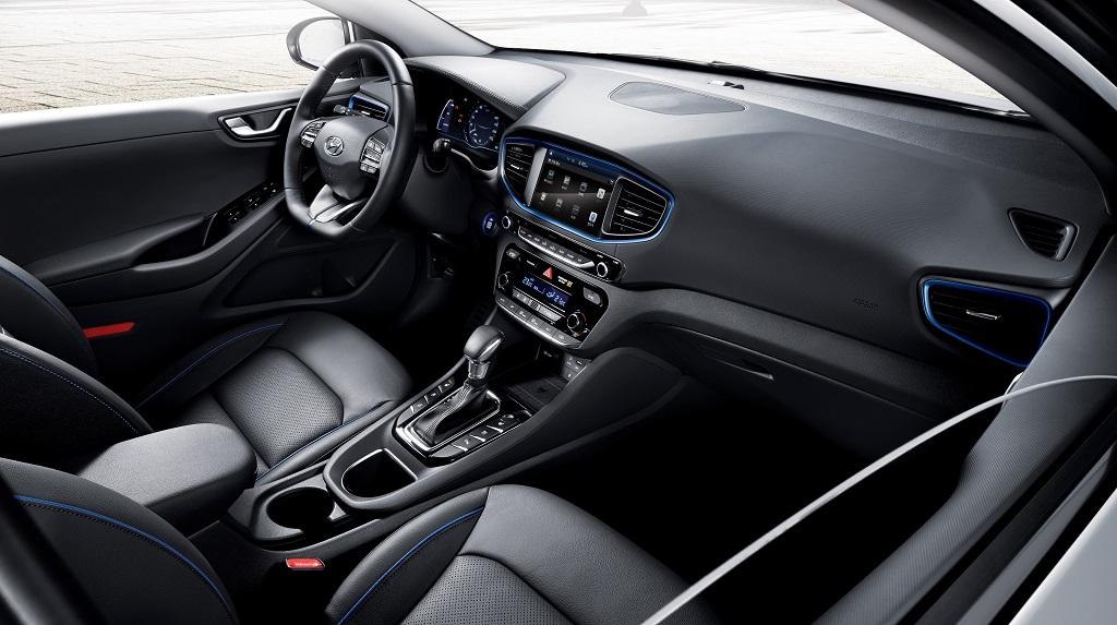 Hyundai IONIQ 2016 interior