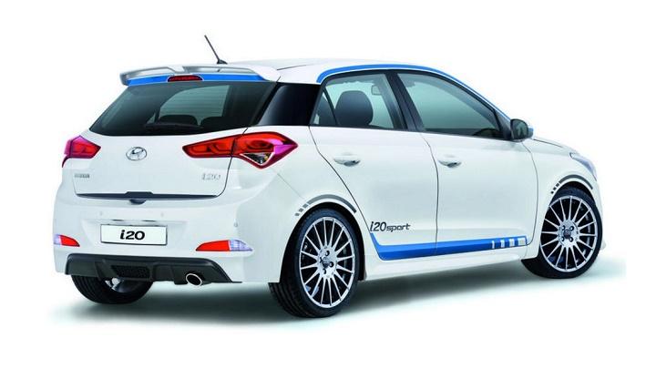 Hyundai i20 Sport zaga