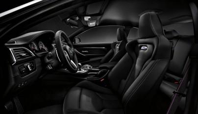 Paquete de Competicion BMW M3 y M4 interior 2