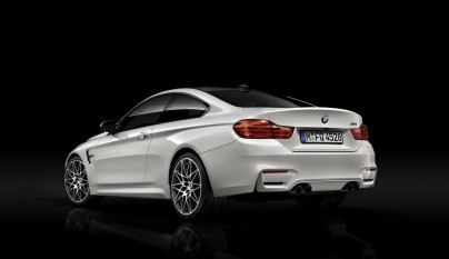 Paquete de Competicion BMW M3 y M4 interior zaga