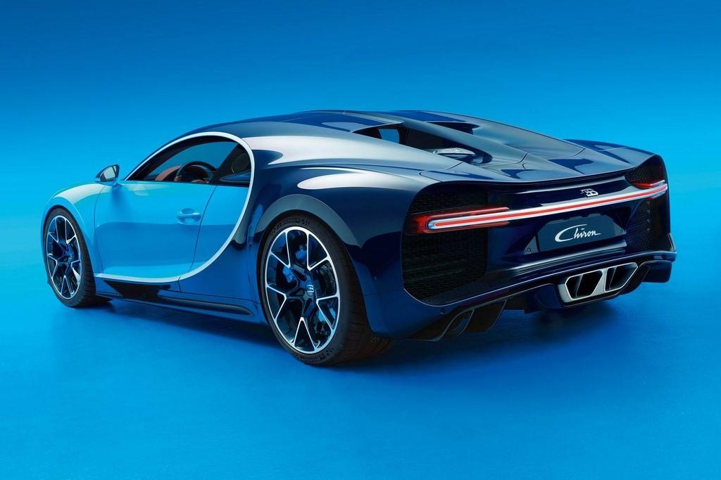 Bugatti Chiron: prestaciones e imágenes oficiales (5/15)
