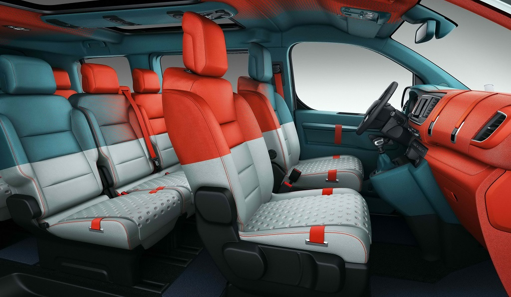 Concept SpaceTourer Hyphen interior