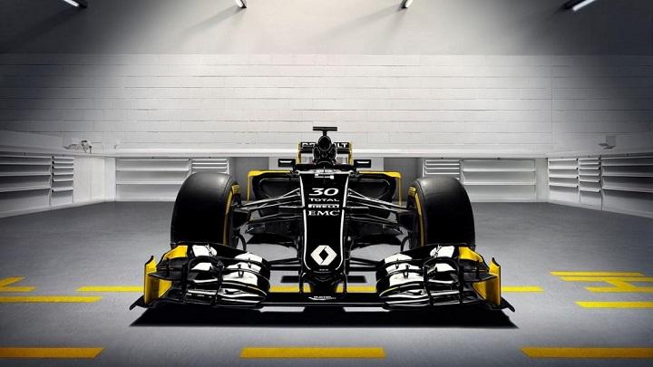 Renault RS16 Formula 1 frontal