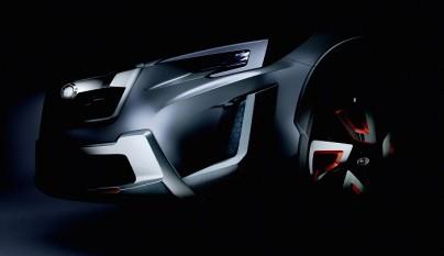 Subaru XV Concept teaser