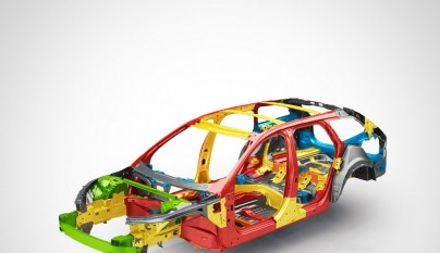 Volvo V90 Steel cage with text