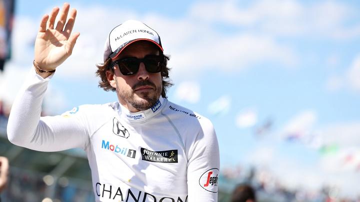 Alonso McLaren Honda