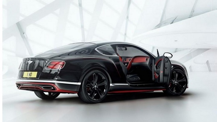 Bentley Continental GT Black Speed 2