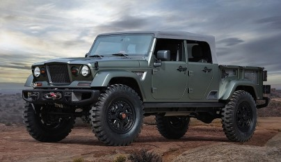 Jeep Crew Chief 715 frontal tres cuartos