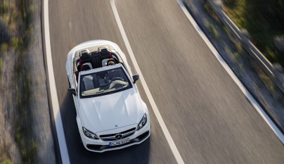 Mercedes-AMG C 63 Cabrio desde arriba 2