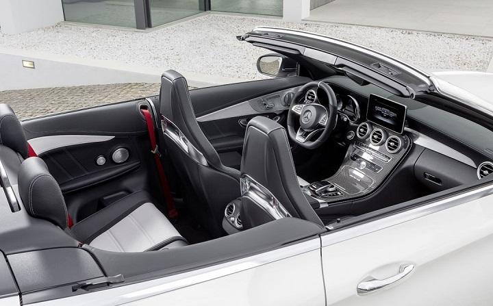 Mercedes-AMG C 63 Cabrio interior