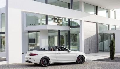 Mercedes-AMG C 63 Cabrio lateral