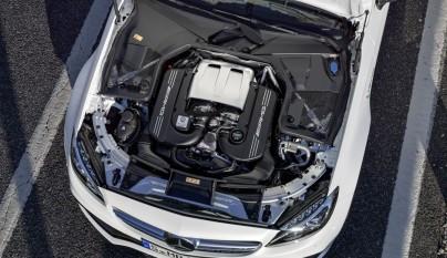 Mercedes-AMG C 63 Cabrio motor