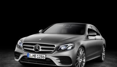 Mercedes-Benz Clase E gris 2
