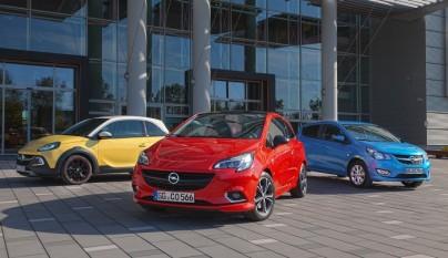 Opel Adam Corsa y Karl