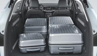 Opel Astra Sports Tourer maletero lleno