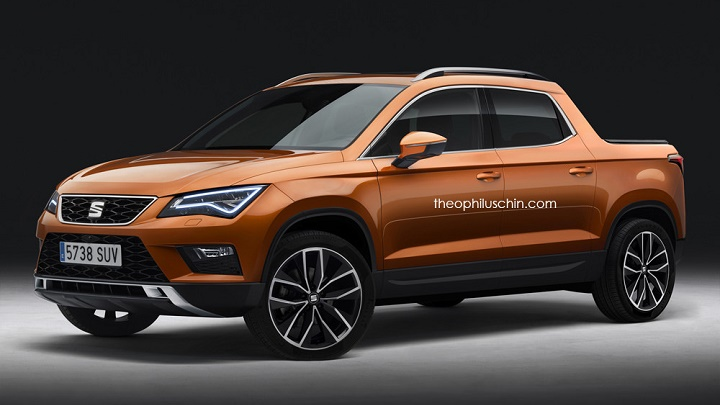 SEAT Ateca pick-up