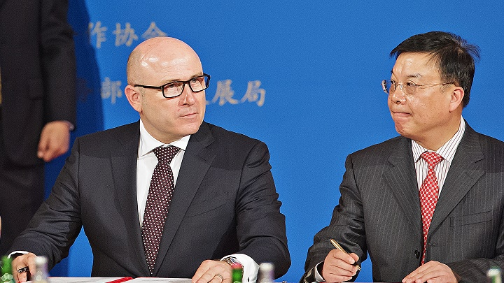 Skoda en china