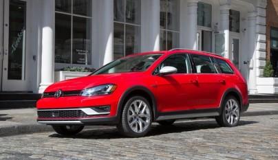 Volkswagen Golf Alltrack frontal tres cuartos