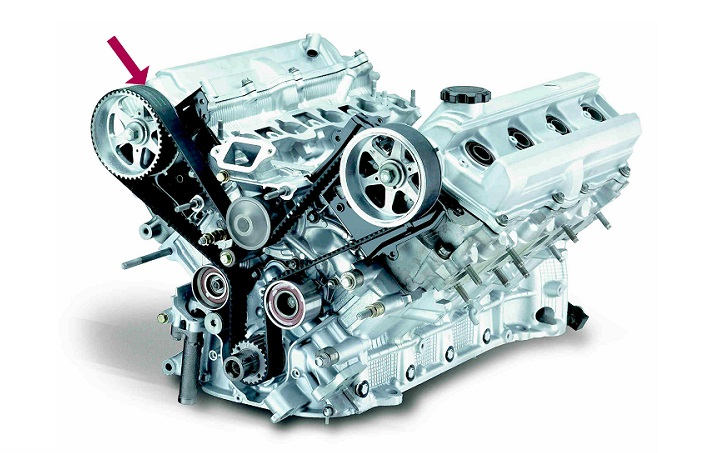 motor con correa de distribucion