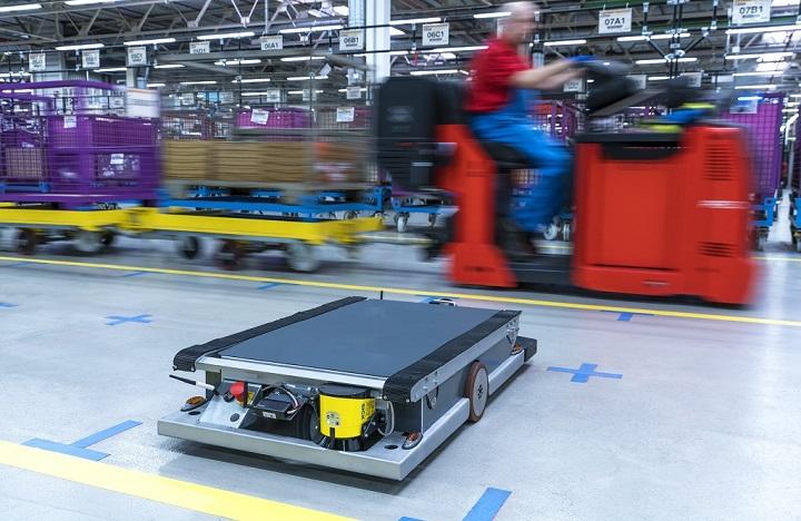 robot autonomo BMW 1