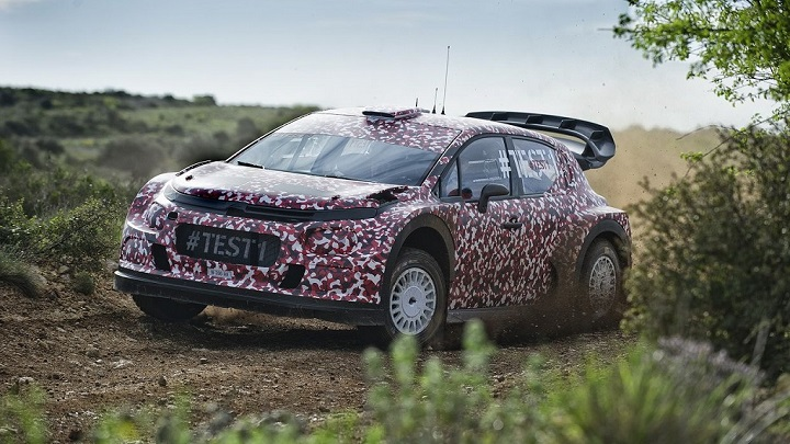 Citroen Racing WRC test 1