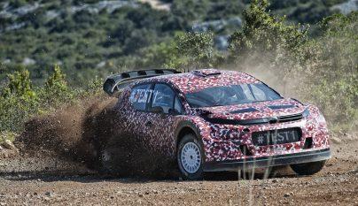 Citroen Racing WRC test 2
