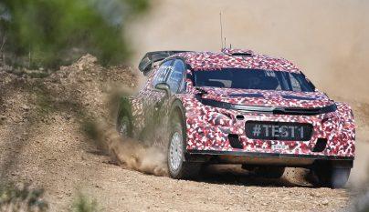 Citroen Racing WRC test 3
