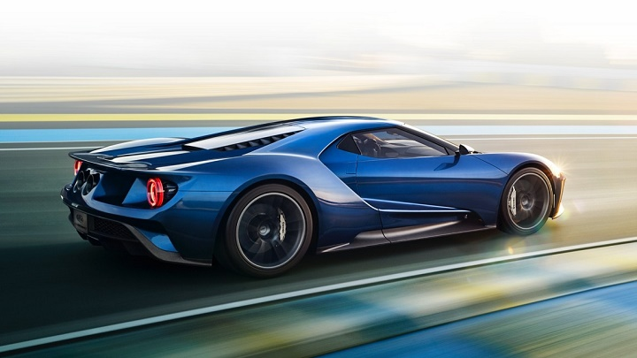 Ford GT azul