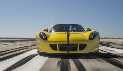 Hennessey Venom GT Spyder Record Guinness 1