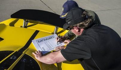 Hennessey Venom GT Spyder Record Guinness 13