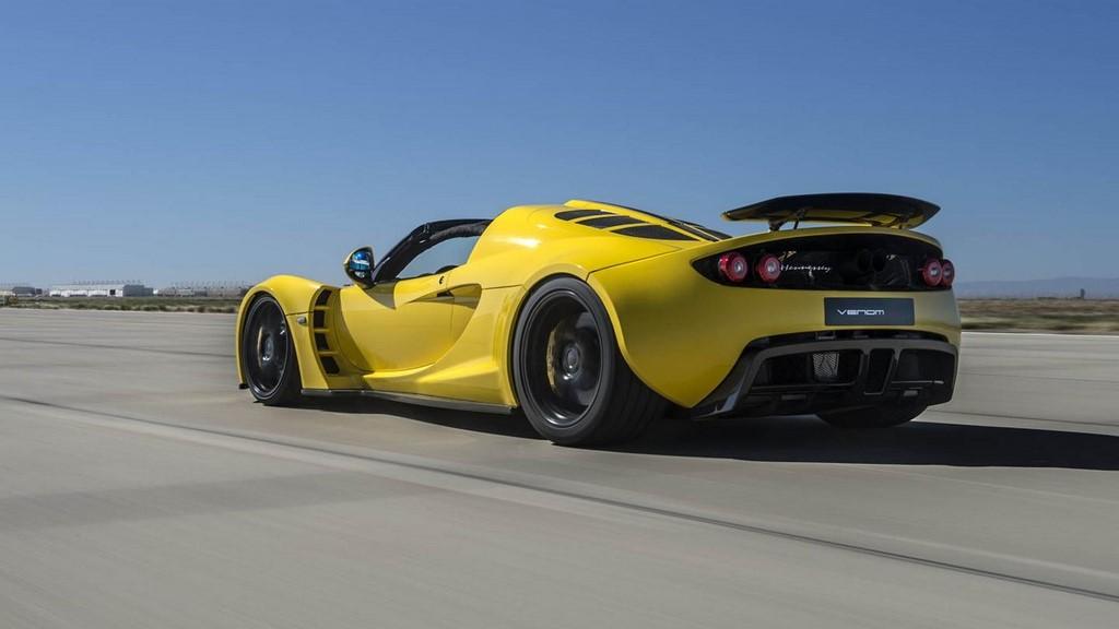Hennessey Venom GT Spyder Record Guinness 30