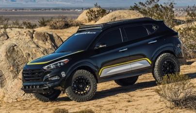 Hyundai Tucson Rockstar Performance Garage 1