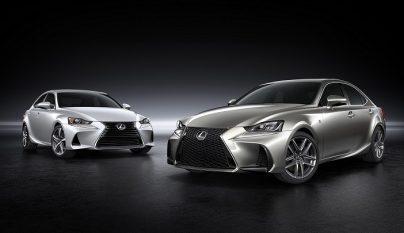 Lexus IS 2017 portada