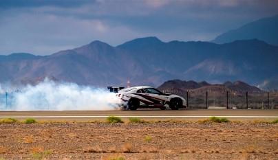 Nissan GT-R record guinness derrapada 1