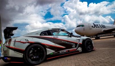 Nissan GT-R record guinness derrapada 2