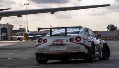 Nissan GT-R record guinness derrapada 5