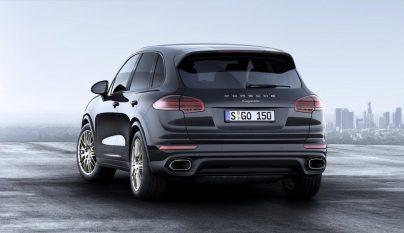 Porsche Cayenne Platinium Edition 2017 2