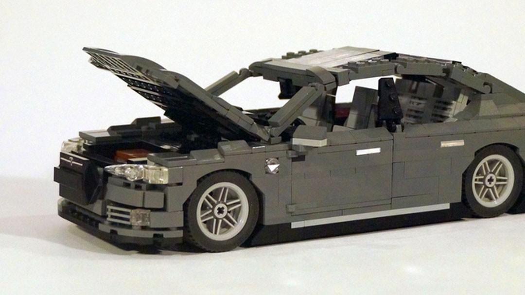 Tesla Model S piezas de LEGO 3