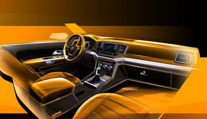 Volkswagen Amarok 2017 boceto 3