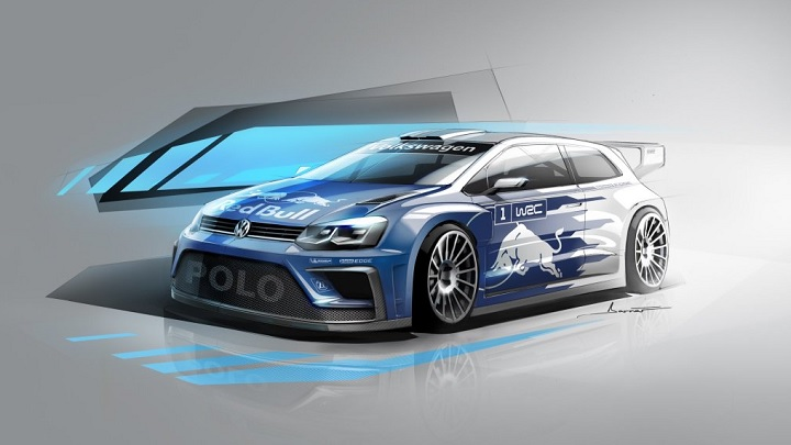 Volkswagen Polo R WRC 2017 boceto