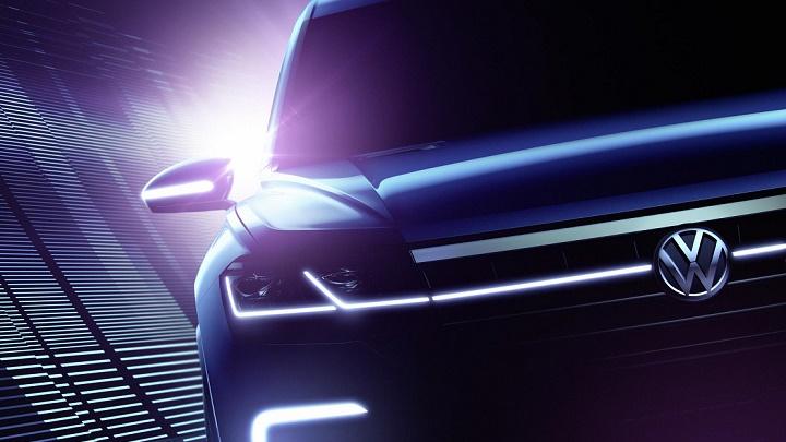 Volkswagen teaser Touareg
