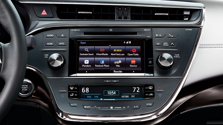 interior Toyota