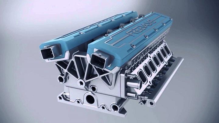 prototipo motor de freevalve 2016