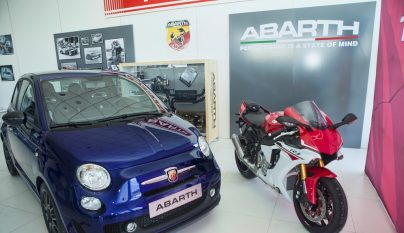 Abarth 595 Yamaha Factory Racing 99 Limited Edition 1