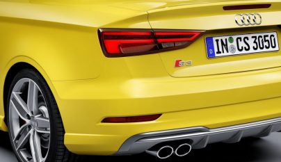Audi S3 2016 zaga
