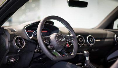 Audi TT RS verde lima 12